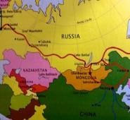 My route... Beijing, Sainshand, Gobi Desert, UB, Irkusk, Lake Baikal, Ekaterinburg and Moscow.